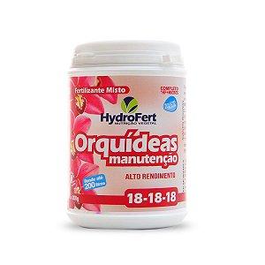 Fertilizante para Orquídea Manutenção Adubo NPK 18-18-18 Farelado (200g)