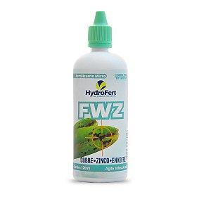 FWZ - Fungicida  Natural Líquido Concentrado Cobre, Zinco e Enxofre (120ml)