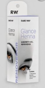 Removedor Henna Glance 20ml Rareway GEL