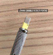 LÂMINA DOUBLE RETA 21 PONTAS