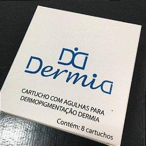 AGULHA DERMIA PARA DERMÓGRAFO DERMO LISA 3 PONTAS 30MM