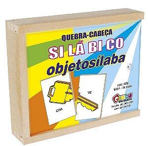 Quebra Cabeça Silábico Objetosílaba