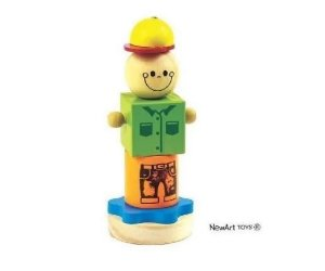 Coleção Cubos - Boneco Joe