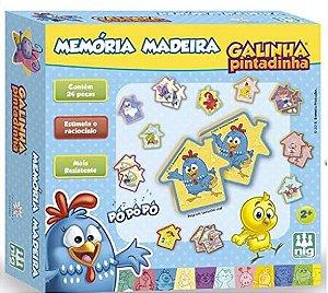 MEMORIA MADEIRA GALINHA PINTADINHA