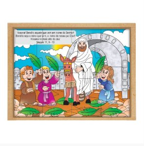 Quebra Cabeça Domingo de Ramos