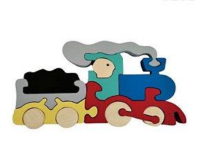 Trem Quebra Cabeça