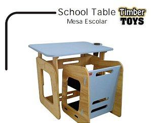School Table Mesa Escolar