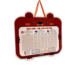 Quadro De Incentivo Bichos Urso