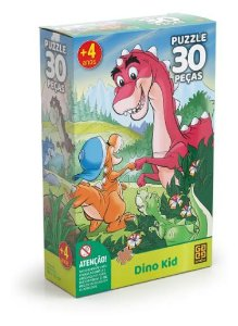 Puzzle 30 Peças Dino Kid