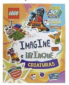 Lego Imagine E Brinque Criaturas