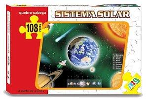 Quebra Cabeça Sistema Solar 108 Peças