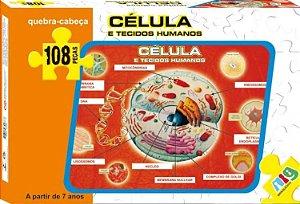 Quebra Cabeça Células E Tecidos Humanos