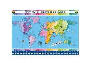 Puzzle 200 Peças Horários Do Mundo