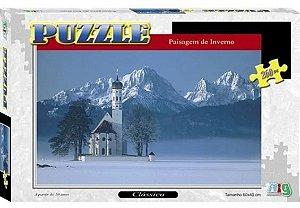Puzzle Paisagem De Inverno