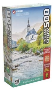 Quebra Cabeça 500 Riacho Nos Alpes