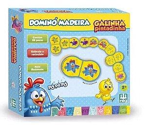 Domino Madeira Galinha Pintadinha