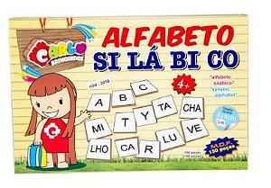 Alfabeto Silábico MDF 150 peças