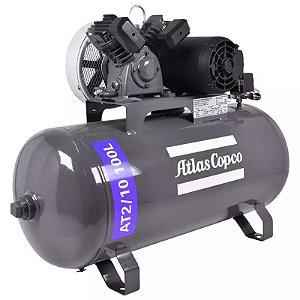 Compressor de Ar 10 Pés 100 Litros 2,0 HP AT2/10 Mono 110/220V ATLAS COPCO