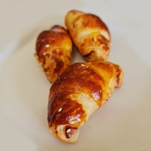 Mini Croissant Presunto e Queijo 25 Unid.