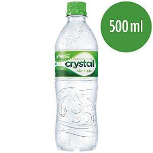 Água Crystal c/gás 500ml