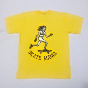 Camiseta Algodão Skatemania Infantil Unissex
