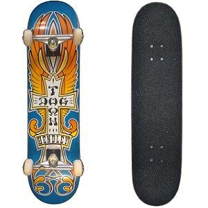 Skate Profissional Completo com Shape Dogtown 8.5