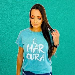 Camiseta Feminina Verde O MAR CURA