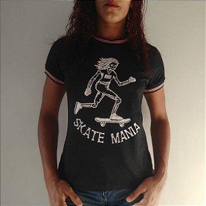 Camiseta Ring Tee SkateMania Preta