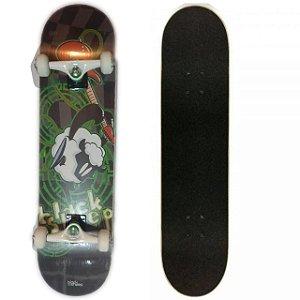 Skate Montado Iniciante Black Sheep Ovelha Verde