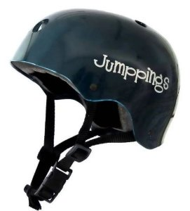 Capacete Jumppings Skate e Patins Verde Escuro G