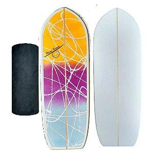 Balance Board Prancha De Equilíbrio Surf Skate Treino