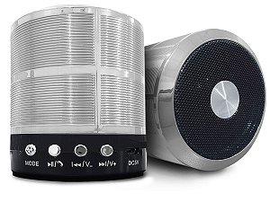 Caixinha Alto Falante Portátil Som Forte Bluetooth Mp3 Rádio