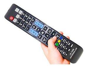 Controle Remoto Universal Tv Led Lcd LG Semp Sony Compatível