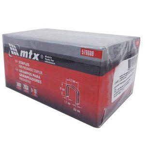 Grampos P Grampeador Pneumático 16mmX11,2mmX0,6m 5000Pçs MTX