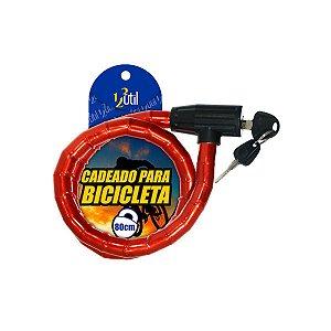 Cadeado Articulado Bicicleta Bike Moto 2 Chaves