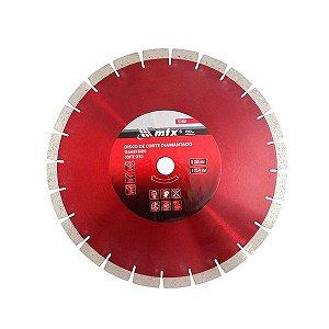 Disco Corte Segmento 350X25,4mm Corte Seco Anel Redutor MTX
