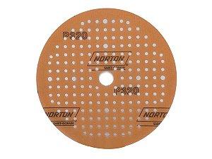 """Norton Disco de Lixa Seco A275 - P320 6"""" Soft Touch"""
