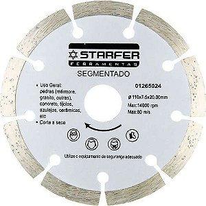 Disco Diamantado Corte Segmentado Seco Starfer 01265024