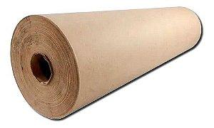 Rolo de Papel 3Kg Semi Kraft Pardo 90cm D10 75g
