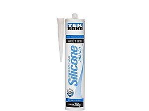 Silicone Acético Branco 280g Tek Bond