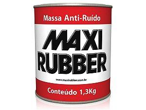 Massa Anti Ruído Proteção Inferior Carro 1,3kg Maxi Rubber