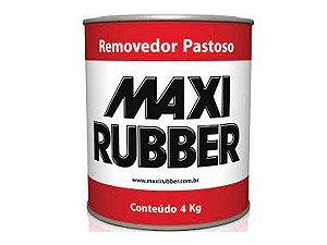 Removedor De Tinta Pastoso Maxi Rubber 4kg