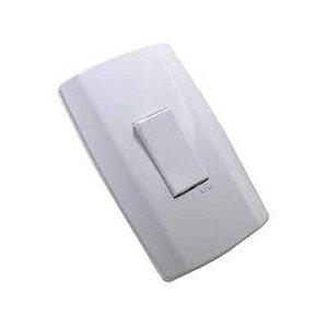 Interruptor Paralelo Vertical 10A 4x2 Branco Slim 8022 Ilumi