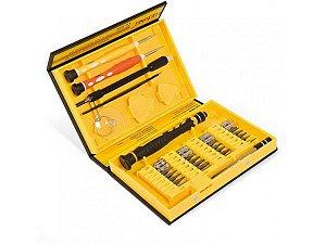 Kit Chave Torx 36 Peças Para Celular Le-960