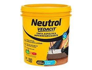 Neutrol Tinta Asfáltica Impermeável Acqua Vedacit 900ml