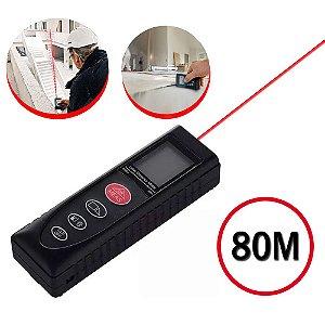 Trena A Laser Digital Até 80m - Medidor De Distância