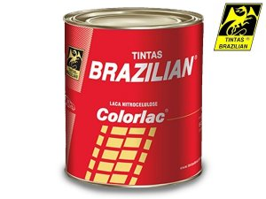 Tinta Preto Cadilac Laca Nitrocelulose Brazilian 900 Ml