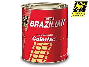 Tinta Branco Puro Laca Nitrocelulose Brazilian 900 Ml