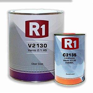 Verniz Alto Sólido R1 V2130 PU 900ML C/ Catalisador C2135
