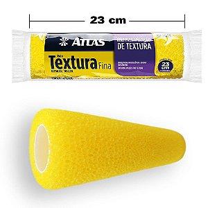 Rolo Espuma Para Textura Fina Atlas 23cm